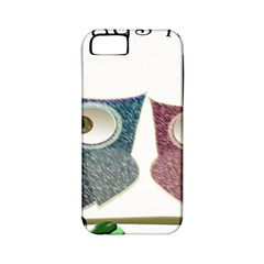Owl Always Love You, Cute Owls Apple Iphone 5 Classic Hardshell Case (pc+silicone)