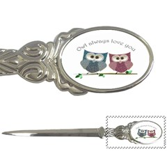 Owl Always Love You, Cute Owls Paper Knife