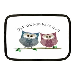 Owl Always Love You, Cute Owls 10  Netbook Case