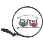 Owl always love you, cute Owls CD Wallet Front
