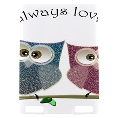 Owl always love you, cute Owls Kindle Touch 3G Hardshell Case