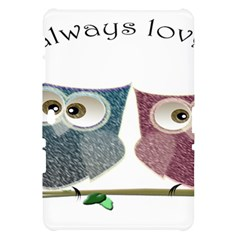 Owl always love you, cute Owls Samsung Galaxy Tab 10.1  P7500 Hardshell Case