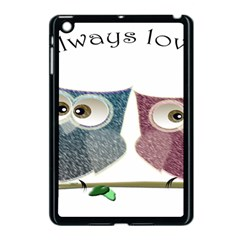 Owl Always Love You, Cute Owls Apple Ipad Mini Case (black)
