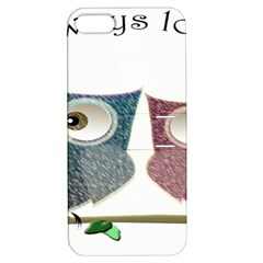 Owl Always Love You, Cute Owls Apple Iphone 5 Hardshell Case With Stand