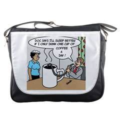 Only One Cup Of Coffee Messenger Bag