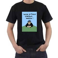 Losing At Poker Black T Shirt