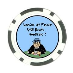 Losing At Poker Poker Chip Card Guard
