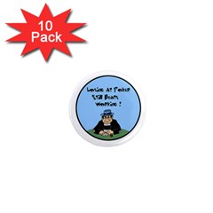 Losing At Poker 1  Mini Magnet (10 pack)