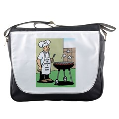 Stop Me Before I Grill Again Messenger Bag