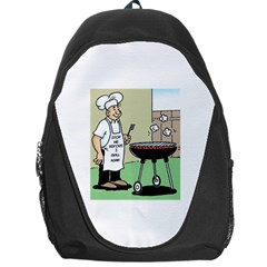 Stop Me Before I Grill Again Backpack Bag