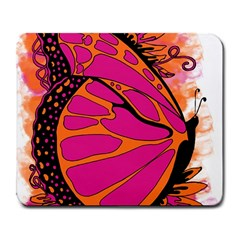Pink Butter T Copy Large Mouse Pad (Rectangle)
