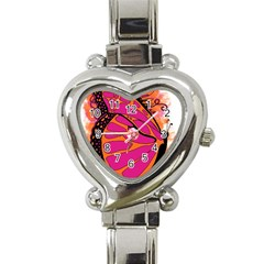 Pink Butter T Copy Classic Elegant Ladies Watch (Heart)