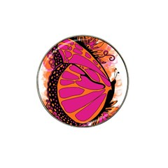 Pink Butter T Copy 10 Pack Golf Ball Marker (for Hat Clip)