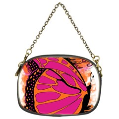 Pink Butter T Copy Single-sided Evening Purse