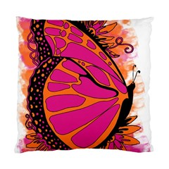 Pink Butter T Copy Single-sided Cushion Case