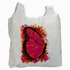 Pink Butter T Copy Single Sided Reusable Shopping Bag
