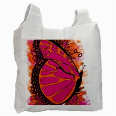 Pink Butter T Copy Twin-sided Reusable Shopping Bag