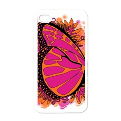Pink Butter T Copy White Apple iPhone 4 Case