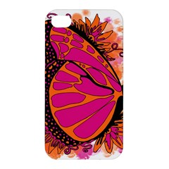 Pink Butter T Copy Apple iPhone 4/4S Hardshell Case