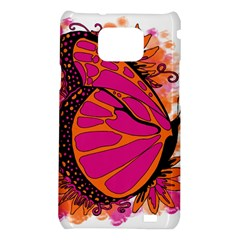 Pink Butter T Copy Samsung Galaxy S II i9100 Hardshell Case