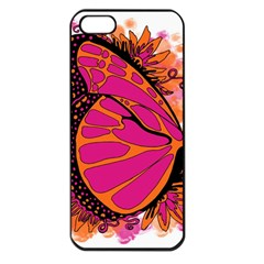 Pink Butter T Copy Apple iPhone 5 Seamless Case (Black)