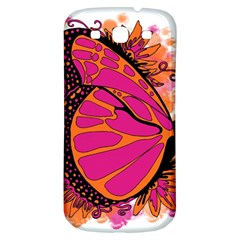 Pink Butter T Copy Samsung Galaxy S3 S III Classic Hardshell Back Case