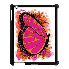 Pink Butter T Copy Apple iPad 3/4 Case (Black)