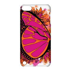 Pink Butter T Copy Apple Ipod Touch 5 Hardshell Case With Stand