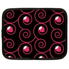20130503 Oriental Black 12  Netbook Case