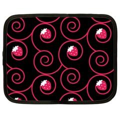 20130503 Oriental Black 15  Netbook Case