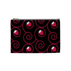 20130503 Oriental Black Medium Makeup Purse