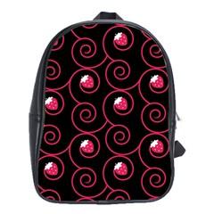 20130503 Oriental Black Large School Backpack