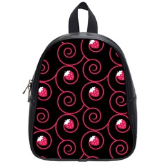 20130503 Oriental Black Small School Backpack