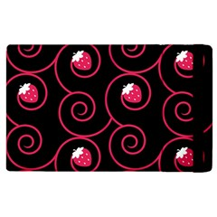 20130503 Oriental Black Apple iPad 3/4 Flip Case