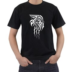 Tribal Black Mens'' T-shirt