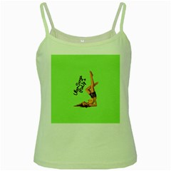 Pin Up Girl 4 Green Spaghetti Top