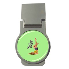 Pin Up Girl 4 Money Clip (Round)