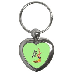 Pin Up Girl 4 Key Chain (Heart)
