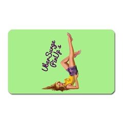 Pin Up Girl 4 Large Sticker Magnet (Rectangle)
