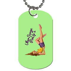 Pin Up Girl 4 Twin Sided Dog Tag