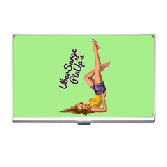 Pin Up Girl 4 Business Card Holder