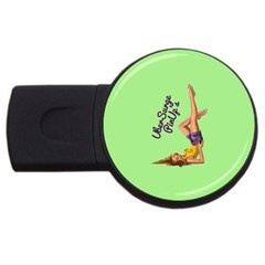 Pin Up Girl 4 1Gb USB Flash Drive (Round)