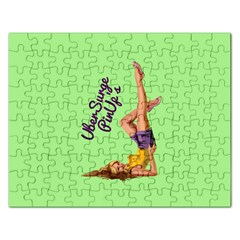 Pin Up Girl 4 Jigsaw Puzzle (rectangle)