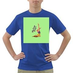 Pin Up Girl 4 Colored Mens'' T Shirt