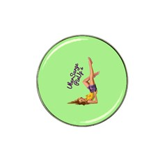 Pin Up Girl 4 Golf Ball Marker (for Hat Clip)