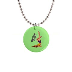 Pin Up Girl 4 Mini Button Necklace