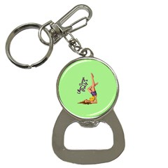 Pin Up Girl 4 Key Chain with Bottle Opener