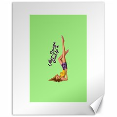Pin Up Girl 4 16  x 20  Unframed Canvas Print