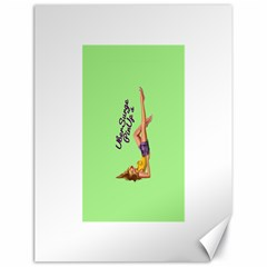 Pin Up Girl 4 18  x 24  Unframed Canvas Print
