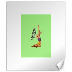Pin Up Girl 4 20  X 24  Unframed Canvas Print